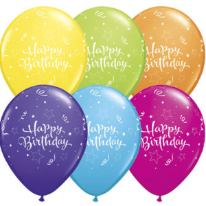 Happy Brithday To You Balloons