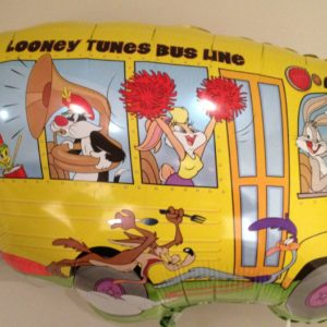 Looney tunes bus line Filled