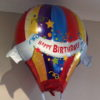 Hot air happy birthday Filled